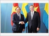 Thủ tướng Nguyễn Xuân Phúc hội đàm và hội kiến các nhà lãnh đạo Vương quốc Thụy Ðiển