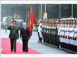 Phát huy Chiến thắng Điện Biên Phủ, xây dựng Quân đội nhân dân Việt Nam vững mạnh về chính trị, nâng cao chất lượng tổng hợp, sức mạnh chiến đấu