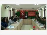 Huyện Trùng Khánh tăng cường lãnh đạo xây dựng khu vực phòng thủ vững chắc