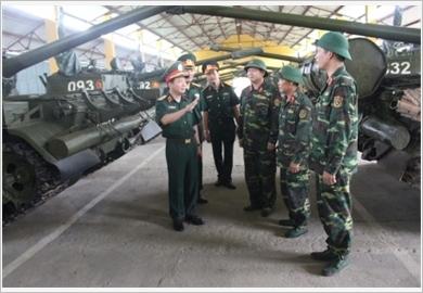 Quân khu 2 phát huy vai trò của đội ngũ cán bộ chủ trì