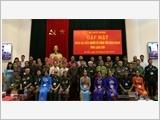 Bộ Quốc phòng gặp mặt Đoàn đại biểu Người có công tỉnh Lạng Sơn