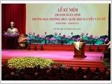 Long trọng kỷ niệm 130 năm ngày sinh Cụ Nguyễn Văn Tố