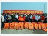 Cảnh sát biển Việt Nam đồng hành với ngư dân vươn khơi, bám biển, bảo vệ chủ quyền Tổ quốc