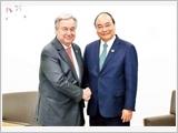 Thủ tướng Nguyễn Xuân Phúc dự các phiên họp tại Hội nghị cấp cao G20