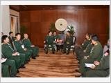 Bộ trưởng Ngô Xuân Lịch gặp song phương với Bộ trưởng Quốc phòng Thái Lan, Lào