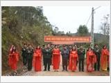 Đoàn Kinh tế - Quốc phòng 338 - điểm tựa vững vàng cho nhân dân biên giới