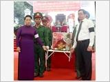 Chủ tịch Quốc hội Nguyễn Thị Kim Ngân dự Lễ truy điệu, an táng hài cốt liệt sĩ tại tỉnh Tây Ninh