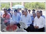 Thủ tướng Nguyễn Xuân Phúc dâng hương tri ân các Anh hùng liệt sĩ tại tỉnh Quảng Nam