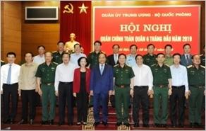 Hội nghị Quân chính toàn quân sáu tháng đầu năm 2019