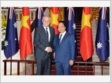 Thủ tướng Nguyễn Xuân Phúc đón, hội đàm; Chủ tịch Quốc hội Nguyễn Thị Kim Ngân hội kiến Thủ tướng Ô-xtrây-li-a X.Mo-ri-xơn