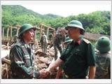 """Quân đội ta """"Trung với nước, trung với Đảng, hiếu với dân"""" theo Di chúc của Chủ tịch Hồ Chí Minh"""""""