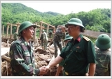 """Quân đội ta """"Trung với nước, trung với Đảng, hiếu với dân"""" theo Di chúc của Chủ tịch Hồ Chí Minh"""