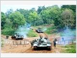 Bộ đội Tăng thiết giáp tập trung nâng cao sức mạnh đột kích
