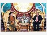 Chủ tịch Quốc hội Nguyễn Thị Kim Ngân hội kiến Tổng Bí thư, Chủ tịch nước Lào Bun-nhăng Vo-la-chít