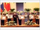 Chủ tịch Quốc hội Nguyễn Thị Kim Ngân hội kiến Chủ tịch Quốc hội Lào Pa-ny Y-a-tho-tu