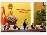 Khai mạc Phiên họp thứ 41 Ủy ban Thường vụ Quốc hội