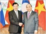 Thủ tướng Nguyễn Xuân Phúc và Thủ tướng Thoong-lun Xi-xu-lít đồng chủ trì Kỳ họp Ủy ban liên Chính phủ Việt Nam - Lào