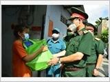 Lực lượng vũ trang Thành phố Hồ Chí Minh nơi tuyến đầu chống dịch