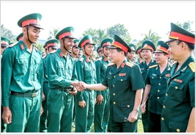 Quân đoàn 4 tăng cường quản lý kỷ luật, kỷ cương