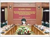 Bộ trưởng Phan Văn Giang làm việc với các cơ quan, đơn vị về công tác bầu cử