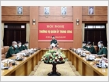 Thượng tướng Phan Văn Giang chủ trì Hội nghị Thường vụ Quân ủy Trung ương