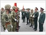 Xây dựng lực lượng vũ trang Thủ đô vững mạnh, đáp ứng yêu cầu, nhiệm vụ