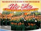 Đảng bộ Quân đội và toàn quân tiếp tục đẩy mạnh học tập và làm theo tư tưởng, đạo đức, phong cách Hồ Chí Minh, xây dựng Quân đội vững mạnh, đáp ứng yêu cầu, nhiệm vụ mới