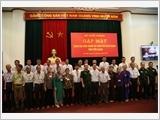 Bộ Quốc phòng gặp mặt Đoàn đại biểu Người có công với cách mạng tỉnh Tiền Giang và Khánh Hòa