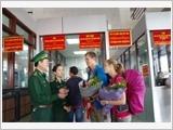 Quang Tri Border Guards enhance quality of border gate management