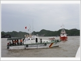 Vietnam Fisheries Surveillance accompanies fishermen on sea