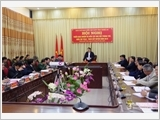 Nghe An Party Committee strengthens leadership over military and defence missions