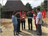 Studying and following Uncle Ho's teaching, Quang Nam Border Guard seconded cadres strengthen help for border communes