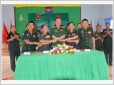 Tay Ninh Armed Forces improve the quality of defense foreign affairs