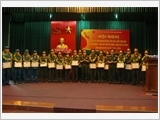 Quang Binh provincial armed forces promote the implementation of Directive No.855-CT/QUTW