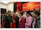 Bộ Quốc phòng gặp mặt Đoàn đại biểu người có công với cách mạng tỉnh An Giang