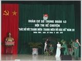 Regiment 43 combines legal education with discipline training