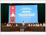 Experiences in defensive zone exercise of Hai Duong province