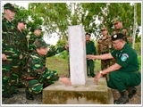 Long An Border Guard's role promoted in the protection of national border