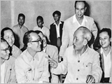 Grasping Ho Chi Minh thought on personnel work in the preparation for party congresses at all levels