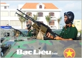 """Promoting the heroic tradition, Bac Lieu armed forces strive to be comprehensively strong, """"exemplary and typical"""""""