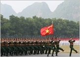 Promoting the historical value and the great stature of the August Revolution and the National Day, building the Army on a par with the mission