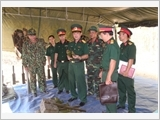 The armed forces of Binh Thuan promote the key role in building defence area