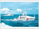 Patrol, inspection and control duties of the Vietnam Coast Guard