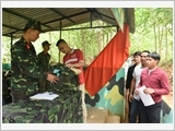 Party and political work in reserve force training at Hanoi Capital High Command