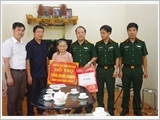 Tuyen Quang Provincial Armed Forces well perform the policy work
