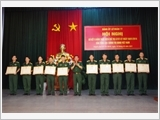 77th Air Defence Brigade's three focuses in learning and following President Ho Chi Minh