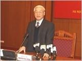 越共中央总书记:确保宏观经济稳定为首要优先任务