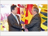越南与古巴发表联合新闻公报