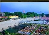 庆祝九·二国庆70周年的盛大阅兵和游行活动在巴亭广场举行