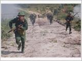 第三军提高备战训练质量